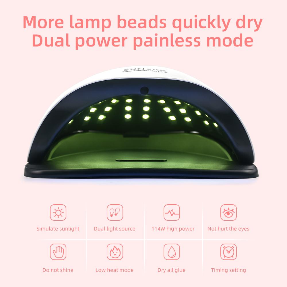 Nouvelle lampe LED UV pour sèche-ongles