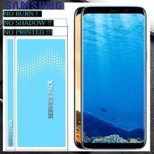 SUPER AMOLED S8 ЖК-дисплей с рамкой для Samsung Galaxy S8 g950 G950F Дисплей S8 плюс G955 G955F Сенсорный экран планшета