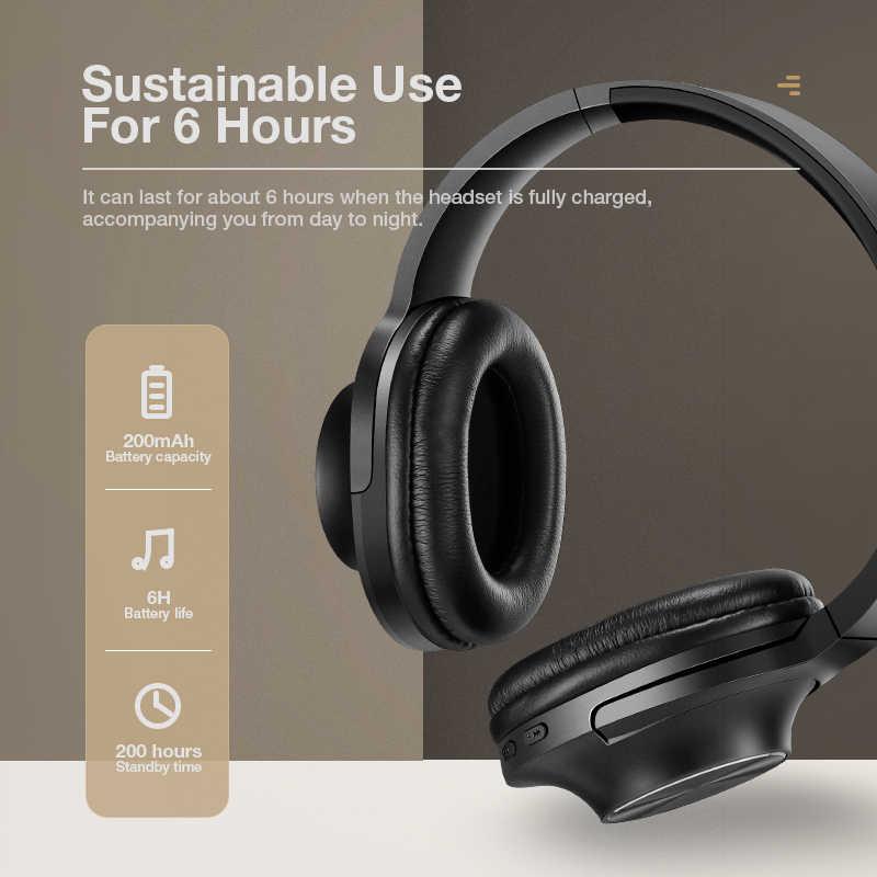 SANLEPUS سماعات بلوتوث لاسلكية محمولة سماعة ستيريو مع هيئة التصنيع العسكري للموسيقى سماعة آيفون سامسونج شاومي