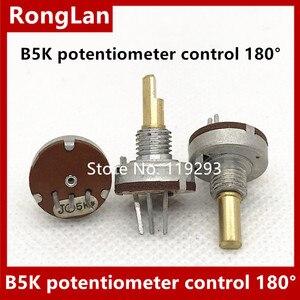 Image 1 - [Bella] importado império b5k potenciômetro modelo de controle de avião 180 graus 10 pçs/lote