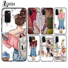 BEST FRENDS Anti-Fall Back Cover For Samsung Galaxy S20 Ultra Plus A01 A11 A21 A31 A41 A51 A71 A91 Phone Case frends 1kg