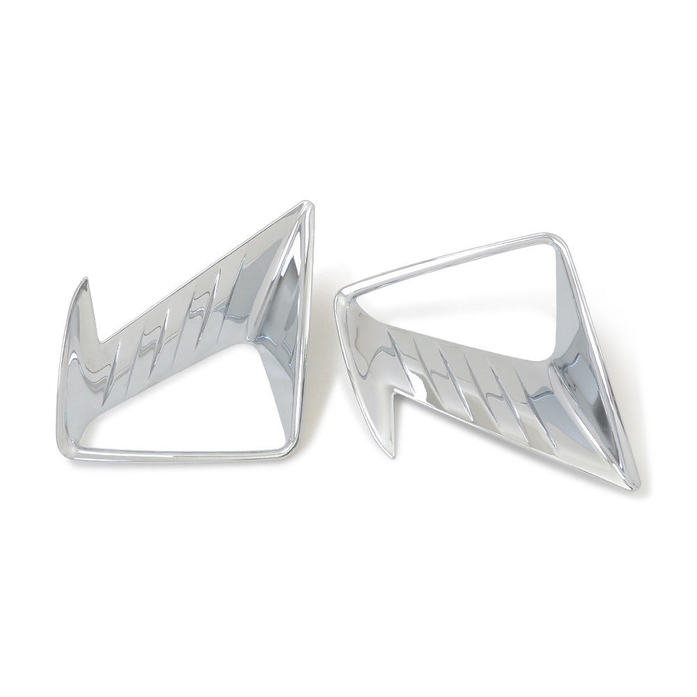 For Toyota RAV4 <font><b>RAV</b></font> <font><b>4</b></font> 2016 2017 <font><b>2018</b></font> ABS Chrome Front Fog Light Lamp Cover Trim image