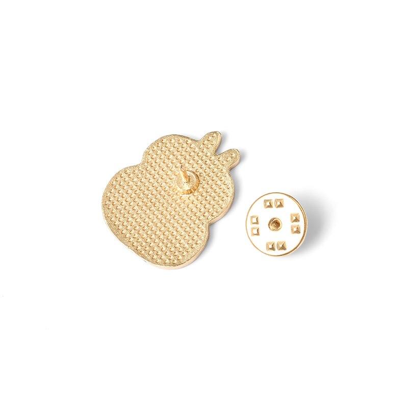 Fat Bunny Enamel Pins Custom Cute Stacked Rabbits Brooch Lapel Pin Shirt Bag Badge Cartoon Animal Jewelry Gift for Kids Friends 4