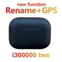 Oryginalny i300000 tws matowy czarny bluetooth słuchawki czujnik ciśnienia douszne super kopia AP pro 3 PK H1 chip i100000 i900000 pro
