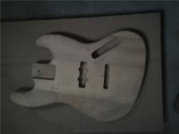 Afanti muzyka DIY gitara zestaw DIY gitara elektryczna ciała (MW-3-563) tanie i dobre opinie none not sure Nauka w domu Do profesjonalnych wykonań Beginner Unisex CN (pochodzenie) Drewno z Brazylii Electric guitar