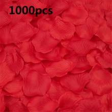 1000PCS Wedding Rose Petals Wedding Petals Silk Rose Petals Colorful Artificial Flower Wedding Accessories