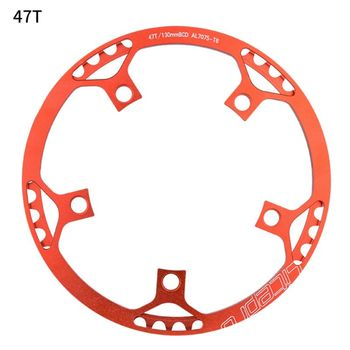Ultralight 130 BCD BMX Chainring Folding Bicycle Chainwheel Bike Crankset Tooth 875D image