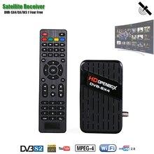 HDOPENBOX Receptor Satélite DVB SX4, compatible con Receptor de TV satelital CA, actualización en línea para Rusia/Ucrania/Europa