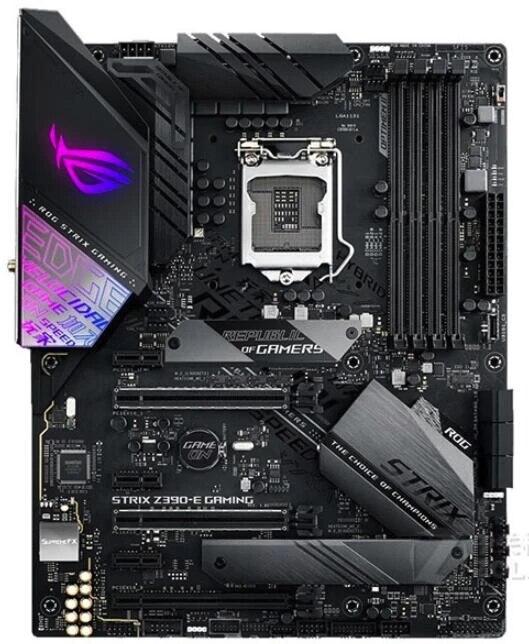 NEW For ASUS ROG STRIX Z390 E GAMING Original motherboard Socket LGA1151  DDR4 Z390 Desktop Motherboard|Motherboards| - AliExpress