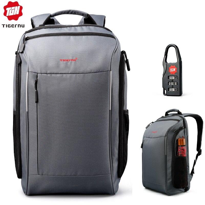 2019 Tigernu Laptop Travel Backpack Anti Fouling Bagpack Male Casual Backpack For Men