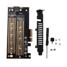 M.2 NVMe SSD NGFF to PCIE X4 Adapter M Key Interface 2230-2280 Expansion Card the extension cord of mpcie wireless network card is connected to m 2 nvme m key interface minipice is connected to ngff