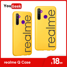 Original realme Q 5 Pro Case PU+TPU Scratch proof Design For Camera, Screen Escort Anti fall 3D Hot Pressing Process