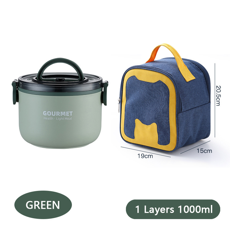 Lunch Box Leak-Proof Food Container 304 Stainless Steel BPA-Free Children's Bento Boxes Thermal Insulation Lunch Bags for Kids 28