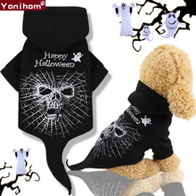 Dog Clothes Winter Christmas Cat Pet Halloween Coats Hoodies for Dogs Funny Puppy Clothing
