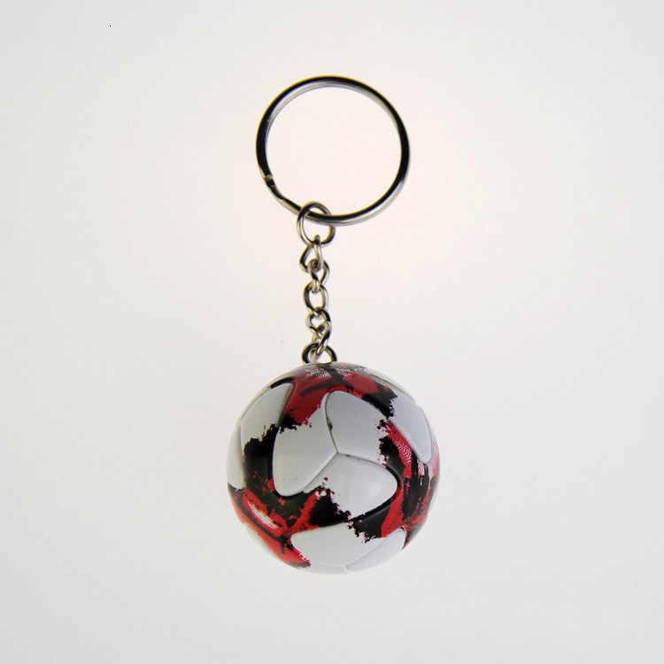 Спортивный Футбольный брелок, сувениры на цепочку для ключей, кожаный 3D брелок для командного игрока, футбольный рюкзак Фана, подвеска, подарки