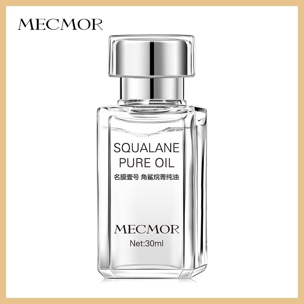 100% Pure Squalane Oil Rejuvenating Moisturizing Best For Repair Damaged Skin MECMOR Additive Free Organic Natural