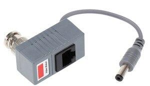 Image 4 - Accesorios para cámaras CCTV, transceptor de Audio y vídeo Balun BNC UTP RJ45, Balun de vídeo con Cable CAT5/5E/6, 10 Uds.