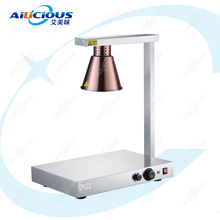 DR1 Hotel restaurant equipment food warmer Lamp Warming Station for catering Stainless steel kitchen wares food heating warmer dz 2 warming lamp 2 head lamp hotel buffet professional heating machine