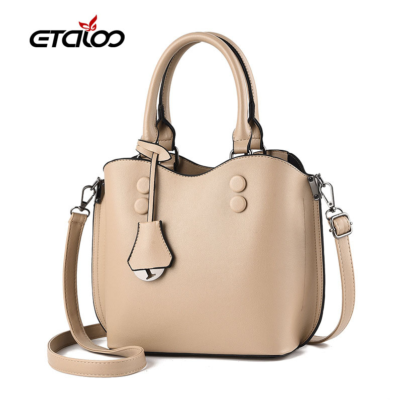 2020 New Women Bag Vintage Handbag Casual Tote Fashion Women Messenger Bags Shoulder Top-Handle Purse Wallet Leather