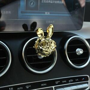 Image 3 - Mode Creatieve Schurk Konijn Patroon Gift Box Auto Luchtverfrisser Cool Car Vent Diffuser Parfum Geur Goede Geur Auto Geur