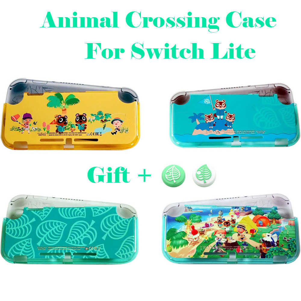 Animal Crossing Keras Shell Case Pelindung Nintend Switch Lite Cover Shell Daun Case untuk Nitendo Switch Lite Aksesoris Game