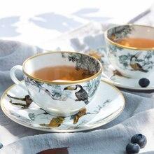 Керамическая чашка для послеобеденного чая из костяного фарфора