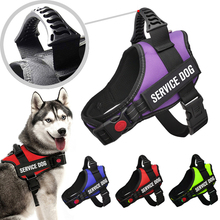 Dog-Vest-Harness Adjustable Handle Reflective Dogs Small Large for Medium with No-Pull