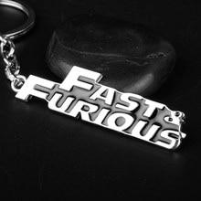 Die Schnelle und Die Furious 8 Toretto Anhänger keychain mode fast & furious Metall Chaveiro llavero Schmuck Fans Geschenk