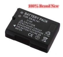 1100 мАч 100% Новый Сменный аккумулятор для камеры Nikon EN-EL14 P7000 D3100 D3200 D5100 D5200 DF P7100 P7200 P7700 P7800