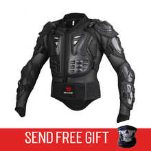 Genuine Motorcycle Jacket Racing Armor Protector ATV Motocross Body Protection Jacket Clothing Protective Gear Mask Gift - DISCOUNT ITEM  20% OFF Automobiles & Motorcycles