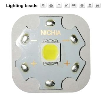 цена на 10PCS NICHIA Cree MKR MK-R LED 5060 Emitter 3W 3V Warm White Flashlight Torch LED Diode Chip Light 280LM on 20mm Copper PCB