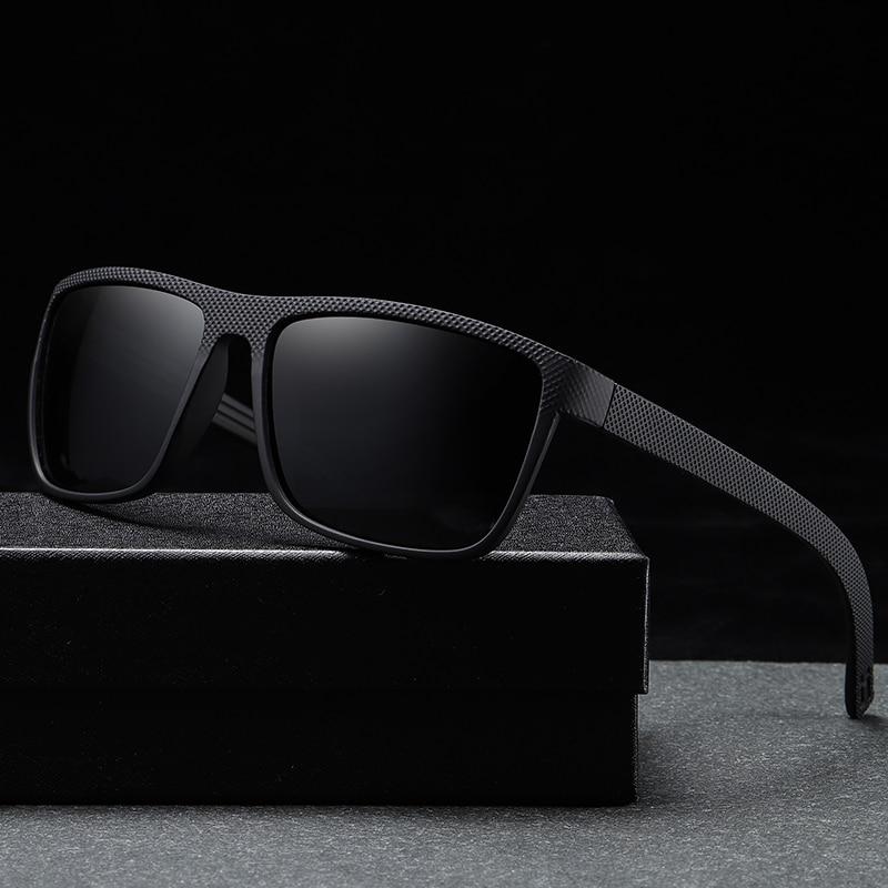 Classic Fashion Polarized Sunglasses Brand Designer Men Women Square Driving  Sun Glasses Male Sport UV400 Gafas De Sol