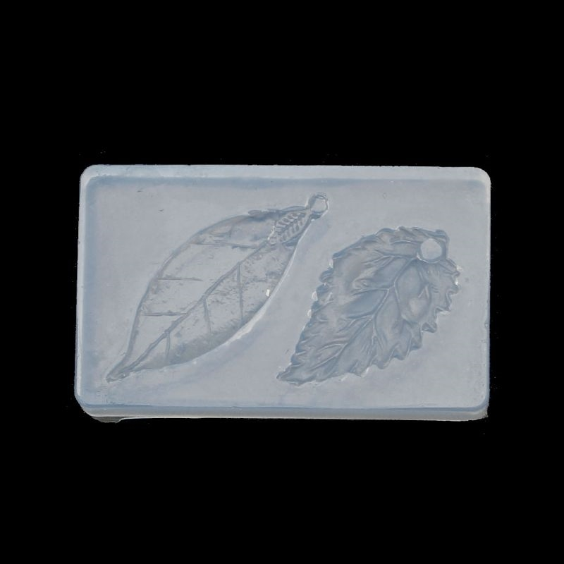 DIY Leaves Pendant Silicone Resin Casting Molds Jewelry Making Tools Art Crafts