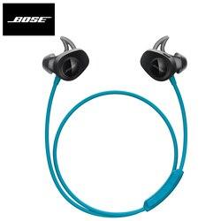 Bose SoundSport bezprzewodowe słuchawki Bluetooth sportowe słuchawki douszne wodoodporne słuchawki Sweatproof słuchawki z mikrofonem dla iPhone Android