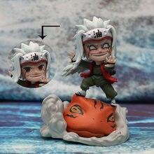 Figuras de acción de goma Sennin Jiraiya Orochimaru, modelo de decoración de Anime de PVC, regalo para chico