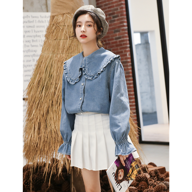 Lamtrip Double-Layer Cotton Yarn A-Line Stand Collar  Loose Forest Long-Sleeved Women's Literary Japanese Quality Dress Pockets 3