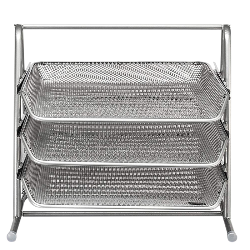 3 Tier Desk Tray Office Organizer | The Mesh Collectio