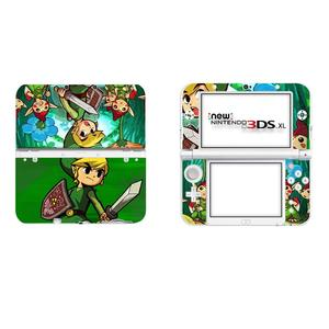 Image 5 - The Legend of Zelda Full Cover Decal Skin Sticker for NEW 3DS XL Skins Stickers for NEW 3DS LL Vinyl Protector Skin Sticker