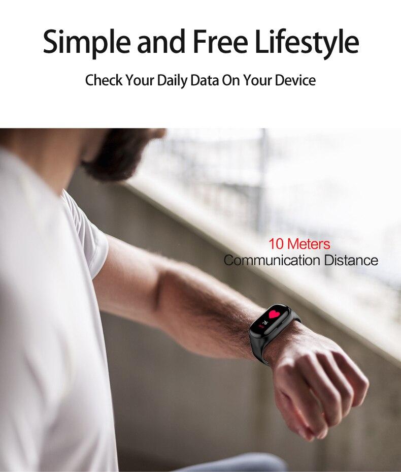 smart bracelet with bluetooth headphone 5.0