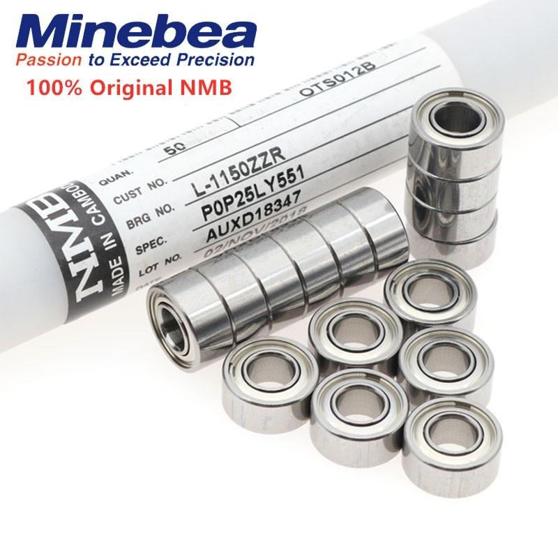 50pcs Original NMB High Speed Ball Bearing L-730ZZ L-940ZZ L-1150ZZ L-1360ZZ 683ZZ 684ZZ 685ZZ 686ZZ 3x7x3 4x9x4 5x11x5 6x13x5mm