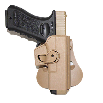 Tactical IMI Glock holster Pistol Airsoft Gun holster for Glock 17 19 22 26 Case waist with magazine Pouch Hunting Accessories 3