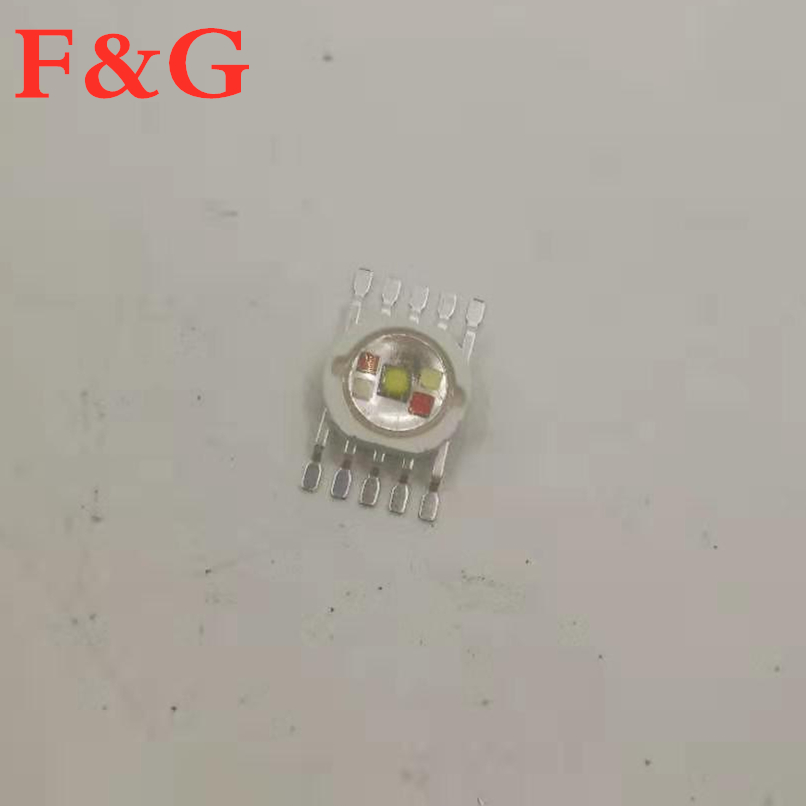 LED RGBWA 5in1 Para Iluminación LED RGBWA Chips Rojo/Verde/Bule/Blanco/Abmer Envío Rápido
