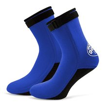 3MM Neoprene Diving Socks Boots Water Shoes Beach Booties Snorkeling Surfing for Men Women