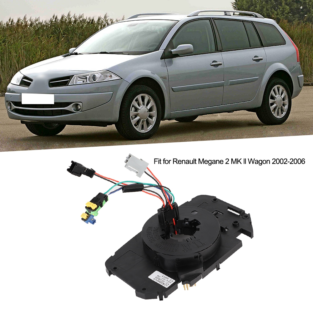 car tools Clock Spring Spiral Cable Fit for Renault Megane 2 MK ll Wagon 2002 2006 car accessories|Pistons  Rings  Rods & Parts| |  - title=