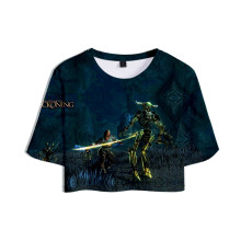 Daily wear Kingdoms of Amalur Re-Reckoning Game 3D Print Tops Girl Short T-Shirt Women Sexy Casual T Shirt(China)
