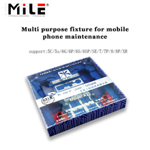 mile Multi Mobile Phone Repair Board PCB Holder For iPhone XR 8 8plus 7 6 6s Plus 5S For A7 A8 A9 A10 Logic Board Chip Fixture