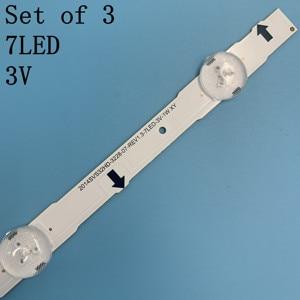 Image 4 - New original Kit 3 PCS 7LED 650mm LED backlight strip for samsung UE32H4000 D4GE 320DC0 R3 2014SVS32HD 3228 BN96 35208A 30448A