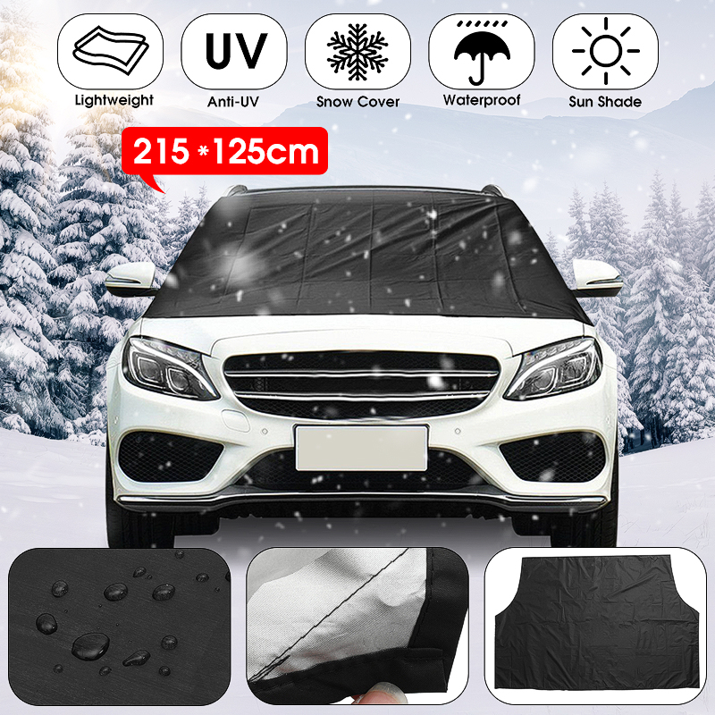 Universial Magnetic Automobile Car Front Windscreen Cover Snow Sun Ice Shield Cover Windshield Sunshades Waterproof Protector