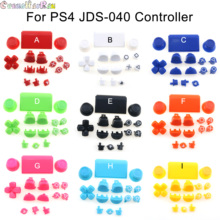 1set 18colors Full Set Joysticks D pad R1 L1 R2 L2 Direction Key AB XY Buttons For Sony PS4 Pro JDS 040 JDM 040 Controllers