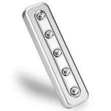 5 светодиоды беспроводной ночник свет шкаф шкаф шкаф лестница кухня спальня ночь лампа ящик зажигалка помещение освещение